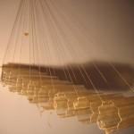 Evenwicht 3 - Glasfiber (2007 - glasfiber/touw - 90 cm)