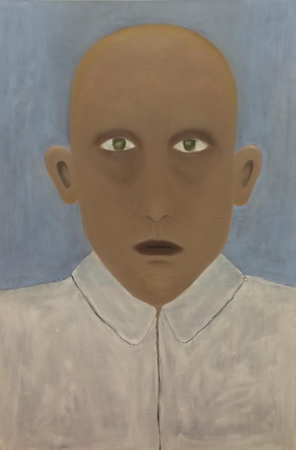 Man (olieverf op linnen - 150/100 cm)